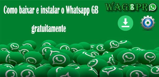 como baixar instalar whatsapp gb