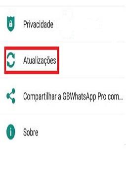 como atualizar o whatsapp gb pro