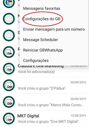 temas para whatsapp gb 2021
