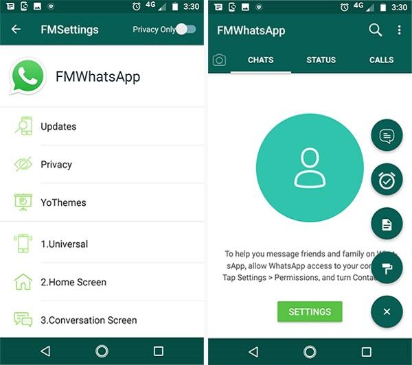fm whatsapp baixar
